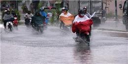 Đêm nay, áp thấp nhiệt đới mạnh lên thành bão gây mưa dông lớn
