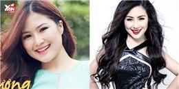 Nhan sắc khác biệt của sao Việt sau khi tăng và giảm cân