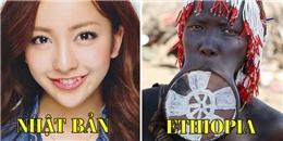 Sững sờ trước sự khác biệt về tiêu chuẩn vẻ đẹp giữa các quốc gia