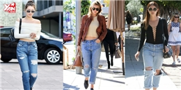 Muôn kiểu phối đồ vừa đẹp vừa chất với quần jean boyfriend