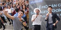 yan.vn - tin sao, ngôi sao - Isaac và Galaxy J7 Prime  khiến giới trẻ phát cuồng ngày ra mắt