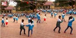 Clip các em học sinh khiêu vũ khiến cư dân mạng phải trầm trồ