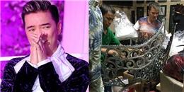 """yan.vn - tin sao, ngôi sao - Tư gia Đàm Vĩnh Hưng """"thất thủ"""" với cơn mưa lớn đầu tuần"""