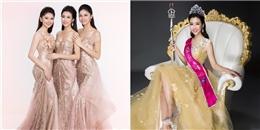 Mỹ Linh, Thanh Tú, Thùy Dung đọ sắc với váy dạ hội