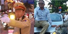 Cố thủ trên nắp ca-pô, thanh niên 'đùa' cảnh sát đối mặt 4 hình phạt
