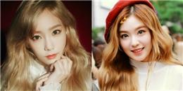 yan.vn - tin sao, ngôi sao - Idol Hàn tóc vàng xinh như búp bê làm bạn chỉ muốn đi nhuộm liền tay