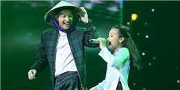 Noo Phước Thịnh điệu đà với nón lá, hỗ trợ 'bé bánh bò' Mai Anh