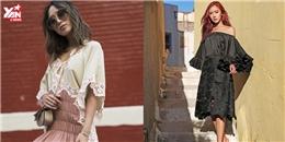 'Street style' nhìn là muốn mặc theo ngay của các tín đồ thời trang
