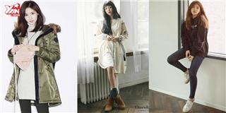 Yoon Ah, Suzy, Sulli gợi ý cách phối đồ cực chất cho mùa thu