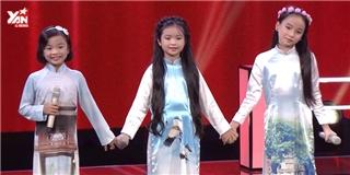 3 thí sinh nhí của Vũ Cát Tường khiến khán giả  chìm  trong  Trời Hà Nội xanh