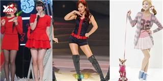 Những nữ thần tượng Kpop mình dài chân ngắn vẫn xinh ngất