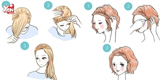 Nếu ghét tóc mái lòa xòa, bạn gái hãy thử ngay các kiểu tóc này nhé!