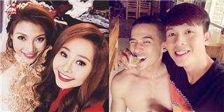 Những đôi bạn thân đáng ngưỡng mộ của làng giải trí Việt