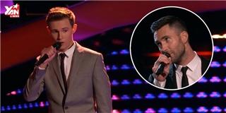 Đây là thí sinh đẹp trai khiến Adam Levine phải  cướp sân khấu