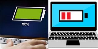 Mẹo nhỏ giúp phục hồi pin laptop như mới