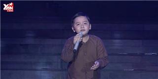 Cậu bé dân ca Thụy Bình khiến hội trường nín lặng với Nhớ mẹ lý mồ côi