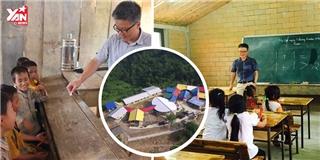 """GS Ngô Bảo Châu và """"phép màu"""" trên đỉnh bản Lũng Luông"""