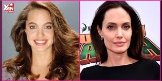 Hành trình thay đổi nhan sắc qua 25 năm của Angelina Jolie