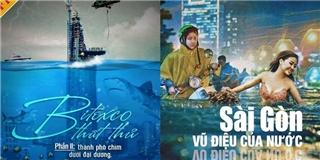 Cư dân mạng rần rần sản xuất  siêu phẩm  sau trận mưa Sài Gòn kỉ lục