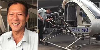 Trực thăng tự chế của kỹ sư  hai lúa  Việt Nam cất cánh thành công