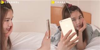 Chụp ảnh tự sướng trên giường sao cho chuẩn?