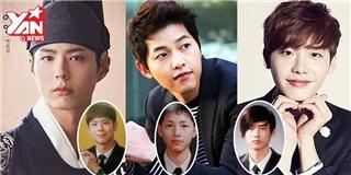Soi ảnh tốt nghiệp  ngố tàu  của những mỹ nam đình đám nhất xứ Hàn
