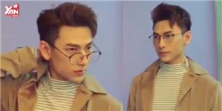 Issac lại  đốn tim  fan với hậu trường chụp ảnh như trai Hàn