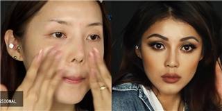 Phù thủy makeup  Hàn khiến dân tình đổ rầm khi hóa thân Kylie Jenner