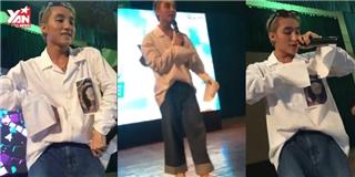 Fan  giật mình  trước gu ăn mặc mới kỳ lạ của Sơn Tùng