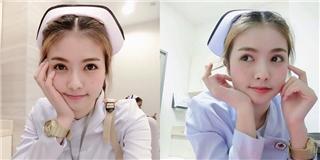 Lại xuất hiện thêm hot girl y tá khiến các anh chỉ muốn...  phát ốm