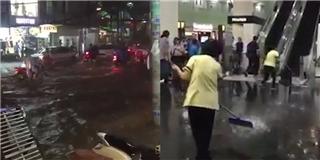 TP.HCM  bó tay  trước cơn mưa kinh hoàng chiều thứ hai