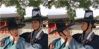 Thái tử  Bo Gum cùng  thái giám  Yoo Jung chúc trung thu khán giả