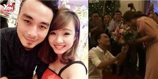 Đây là màn cầu hôn đã khiến dân mạng Việt vui đến rơi lệ