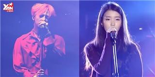 G-Dragon và IU bất ngờ  song ca  bản hit If You trên sân khấu