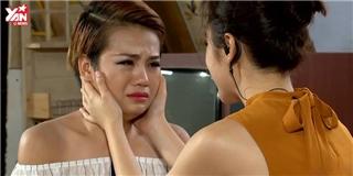 Thùy Trâm khóc với Angela Phương Trinh khi nhắc về những rắc rối khi ở nhà chung