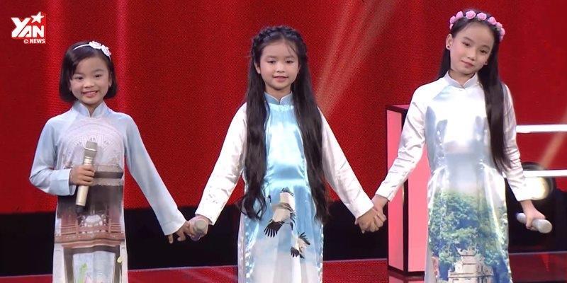 """3 thí sinh nhí của Vũ Cát Tường khiến khán giả """"chìm"""" trong """"Trời Hà Nội xanh"""""""