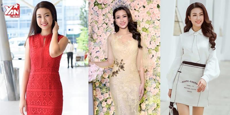Không cần làm quá, Hoa hậu Mỹ Linh vẫn chứng minh bản lĩnh mặc đẹp