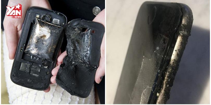 Đây là những lí do dẫn đến sự cố smartphone phát nổ, hãy cẩn thận!