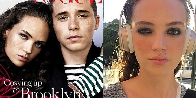 yan.vn - tin sao, ngôi sao - Nhan sắc trong veo tựa sớm mai của tình mới Brooklyn Beckham