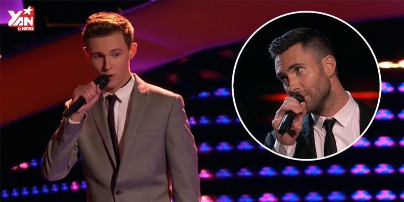 """Đây là thí sinh đẹp trai khiến Adam Levine phải """"cướp sân khấu"""""""