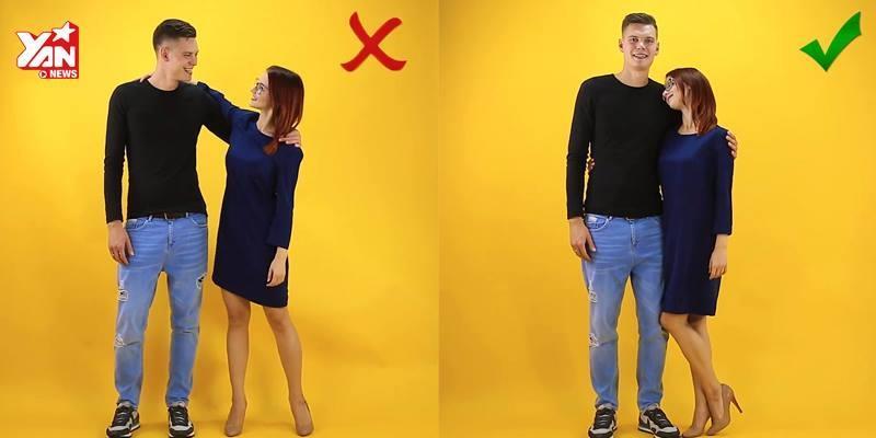 """Những kiểu tạo dáng """"chuẩn không cần chỉnh"""" cho các cặp đôi"""