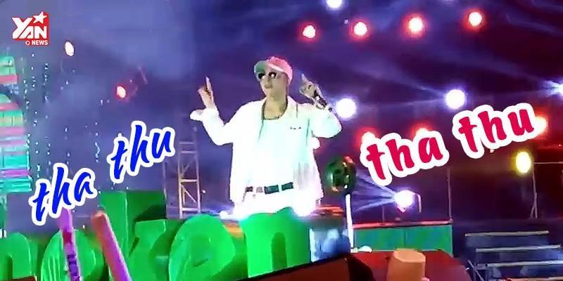 """Khán giả hô vang """"Tha thu"""" khi Sơn Tùng hát trên sân khấu"""
