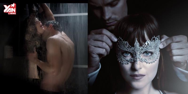 """""""Fifty Shades Darker"""" tung trailer đầu tiên quá hot quá nóng"""