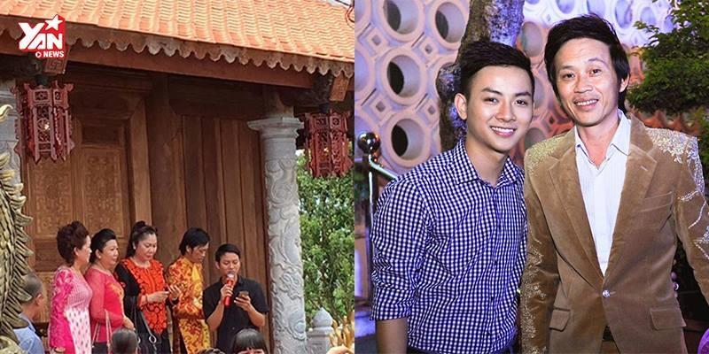 Cha con Hoài Linh - Hoài Lâm song ca cực ngọt ngày khánh thành nhà tổ