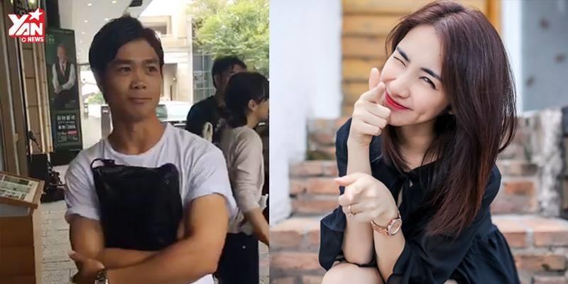 Xôn xao trước thái độ kỳ lạ của Công Phượng khi fan nhắc tên Hòa Minzy
