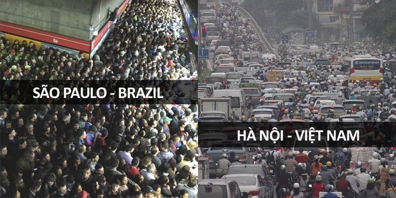 Ngộp thở với tình hình giao thông tại các nước trên thế giới