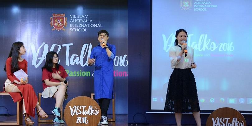 """Học sinh VAS hào hứng trước """"tuổi thơ dữ dội"""" của chú Thành Lộc"""