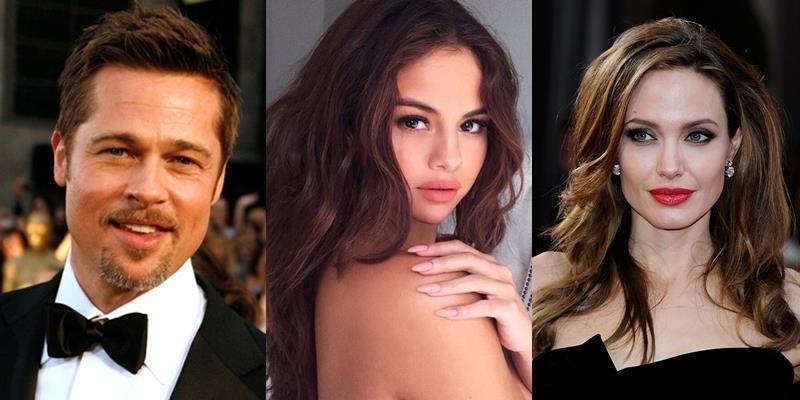 yan.vn - tin sao, ngôi sao - Brad Pitt bị phát hiện lưu ảnh Selena Gomez trong điện thoại