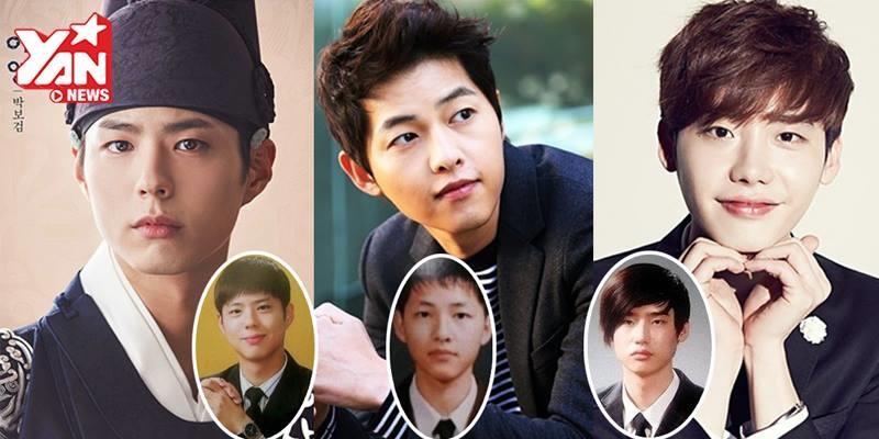 """Soi ảnh tốt nghiệp """"ngố tàu"""" của những mỹ nam đình đám nhất xứ Hàn"""