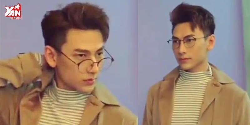 """Issac lại """"đốn tim"""" fan với hậu trường chụp ảnh như trai Hàn"""